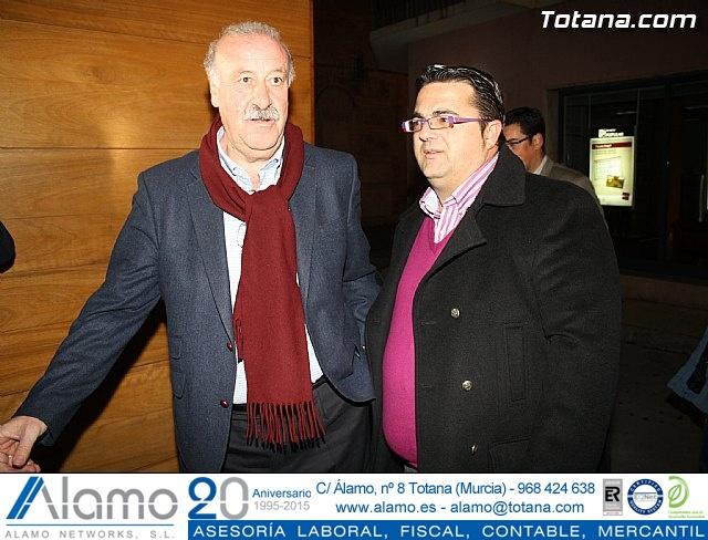 Vicente del Bosque apoya a las Enfermedades Raras en Totana - 1