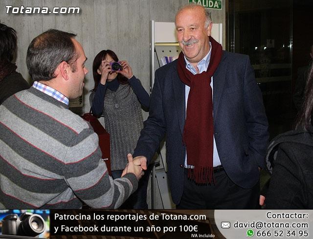 Vicente del Bosque apoya a las Enfermedades Raras en Totana - 3