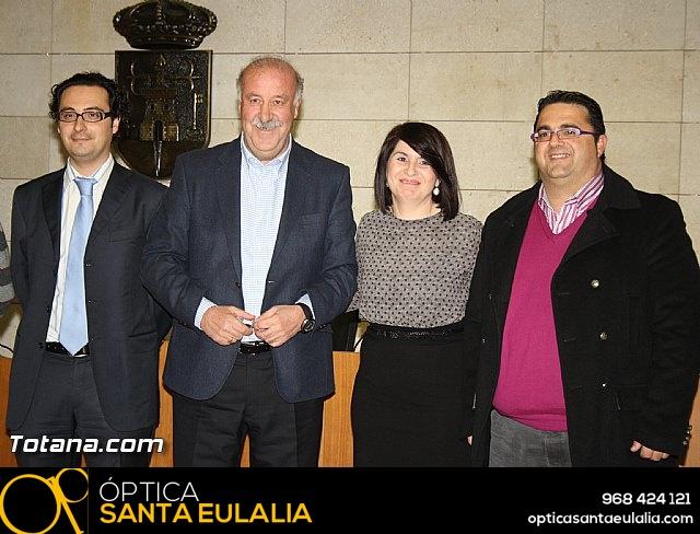 Vicente del Bosque apoya a las Enfermedades Raras en Totana - 18