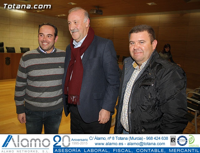 Vicente del Bosque apoya a las Enfermedades Raras en Totana - 19