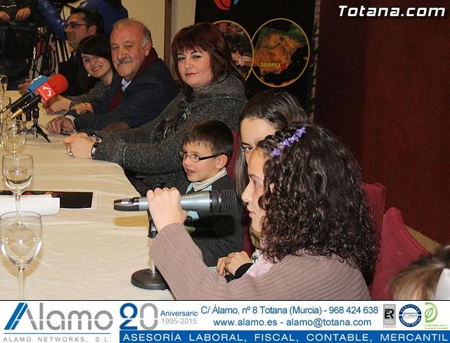 Vicente del Bosque apoya a las Enfermedades Raras en Totana - 22