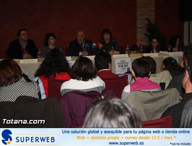 Vicente del Bosque apoya a las Enfermedades Raras en Totana - 36