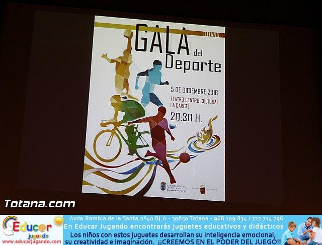 Gala del deporte Totana 2016 - 1