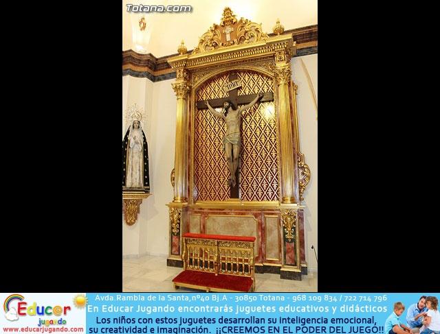 Bendición del nuevo trono de la Hdad. de la Dolorosa - 40