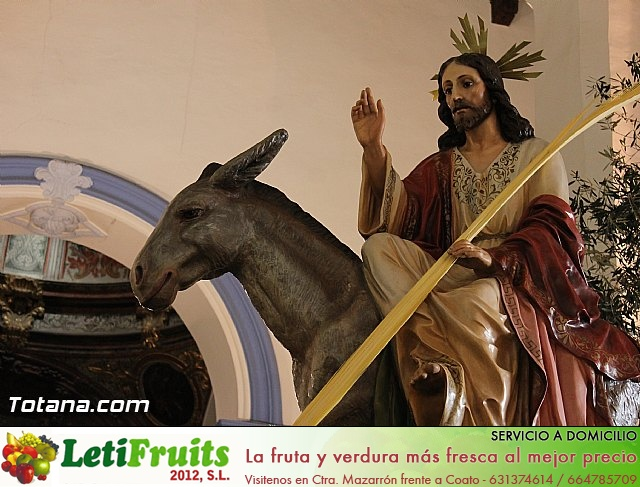 Domingo de Ramos (Iglesia Santiago). Semana Santa 2013 - 31