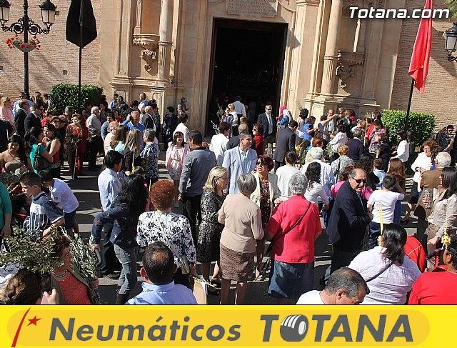 Procesión Domingo de Ramos 2014 - Parroquia Santiago - 34