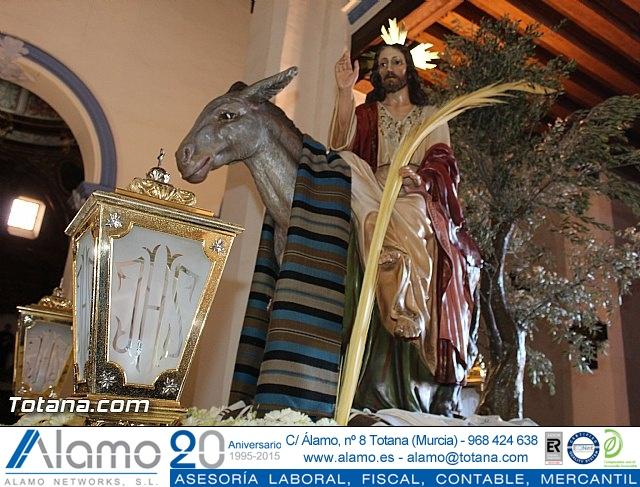 Domingo de Ramos - Procesión Iglesia Santiago - Semana Santa 2015 - 14