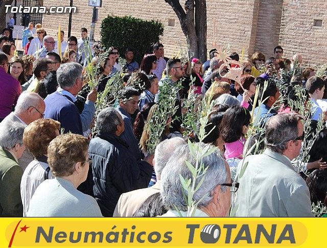 Domingo de Ramos - Procesión Iglesia Santiago - Semana Santa 2015 - 22