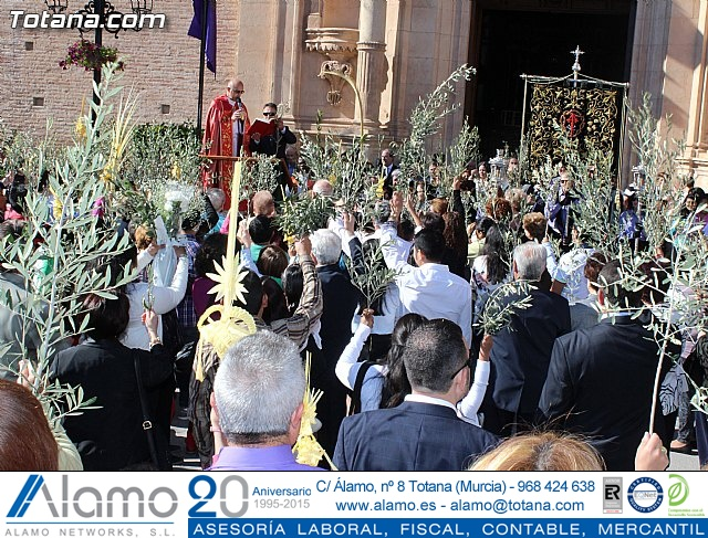 Domingo de Ramos - Procesión Iglesia Santiago - Semana Santa 2015 - 23