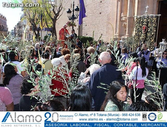 Domingo de Ramos - Procesión Iglesia Santiago - Semana Santa 2015 - 32