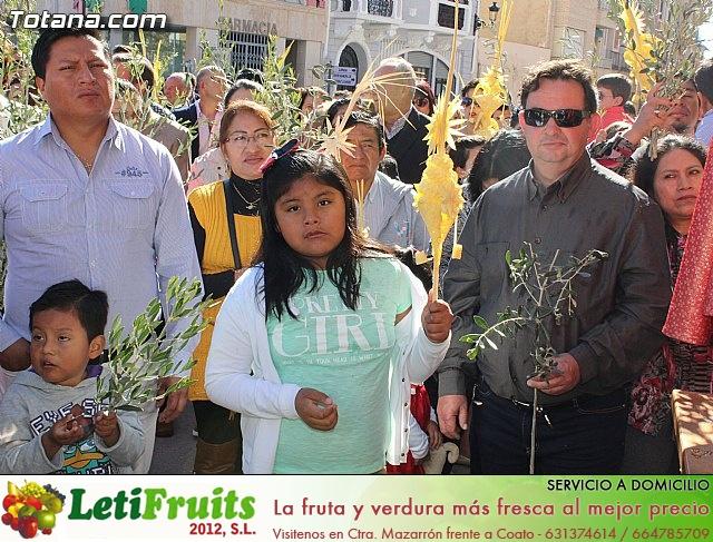 Domingo de Ramos - Procesión Iglesia Santiago - Semana Santa 2015 - 45
