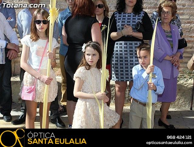 Domingo de Ramos - Procesión Iglesia Santiago - Semana Santa 2015 - 61