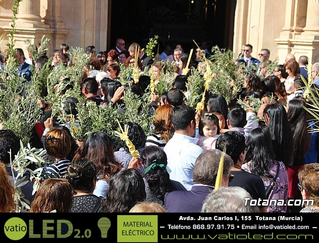 Domingo de Ramos - Procesión Iglesia de Santiago - Semana Santa de Totana 2019 - 7