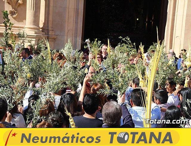 Domingo de Ramos - Procesión Iglesia de Santiago - Semana Santa de Totana 2019 - 13