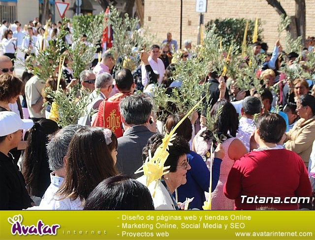Domingo de Ramos - Procesión Iglesia de Santiago - Semana Santa de Totana 2019 - 15