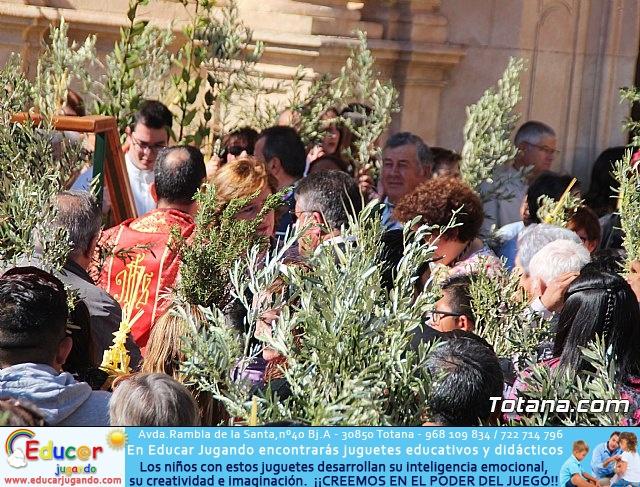 Domingo de Ramos - Procesión Iglesia de Santiago - Semana Santa de Totana 2019 - 16