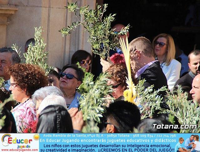 Domingo de Ramos - Procesión Iglesia de Santiago - Semana Santa de Totana 2019 - 20
