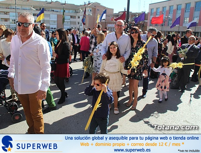 Domingo de Ramos - Procesión Iglesia de Santiago - Semana Santa de Totana 2019 - 45