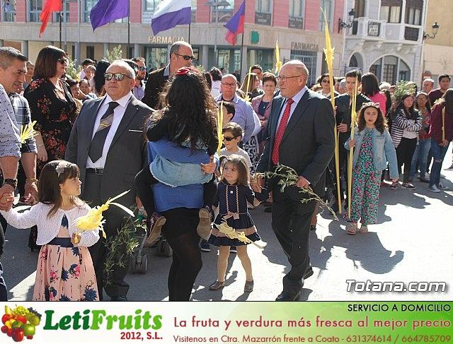 Domingo de Ramos - Procesión Iglesia de Santiago - Semana Santa de Totana 2019 - 49