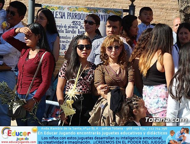 Domingo de Ramos - Procesión Iglesia de Santiago - Semana Santa de Totana 2019 - 57