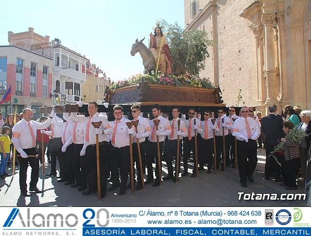 Domingo de Ramos - Procesión Iglesia de Santiago - Semana Santa de Totana 2019 - 68