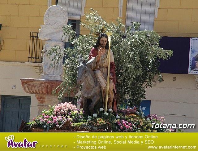 Domingo de Ramos - Procesión Iglesia de Santiago - Semana Santa de Totana 2019 - 500