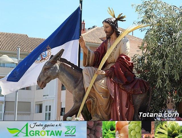 Domingo de Ramos - Procesión Iglesia de Santiago - Semana Santa de Totana 2019 - 510