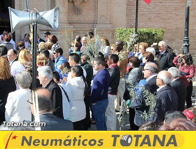 Domingo de Ramos - Procesión Iglesia Santiago - Semana Santa 2016 - 13