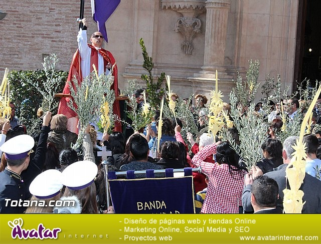 Domingo de Ramos - Procesión Iglesia Santiago - Semana Santa 2016 - 16
