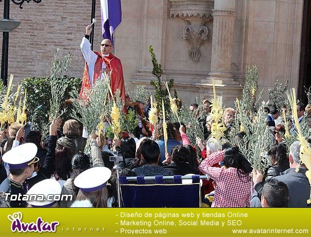 Domingo de Ramos - Procesión Iglesia Santiago - Semana Santa 2016 - 17