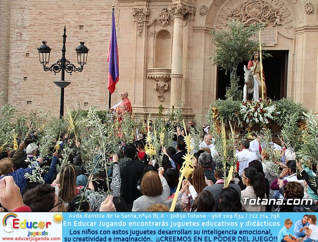 Domingo de Ramos - Procesión Iglesia Santiago - Semana Santa 2017 - 35