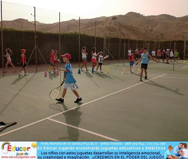 Clausura del curso 2011-2012 de la Escuela del Club de Tenis Totana - 7