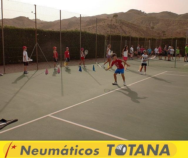 Clausura del curso 2011-2012 de la Escuela del Club de Tenis Totana - 8