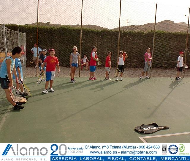 Clausura del curso 2011-2012 de la Escuela del Club de Tenis Totana - 9