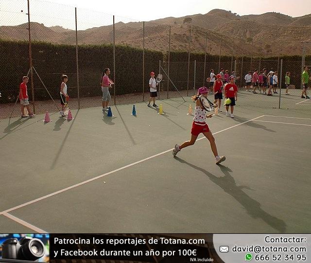 Clausura del curso 2011-2012 de la Escuela del Club de Tenis Totana - 13