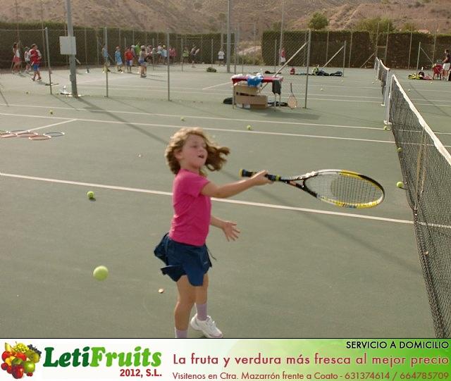 Clausura del curso 2011-2012 de la Escuela del Club de Tenis Totana - 17