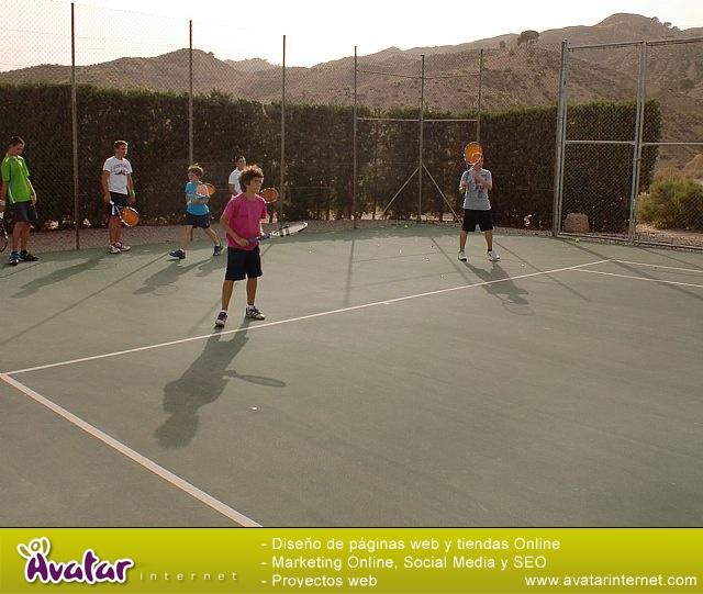 Clausura del curso 2011-2012 de la Escuela del Club de Tenis Totana - 22