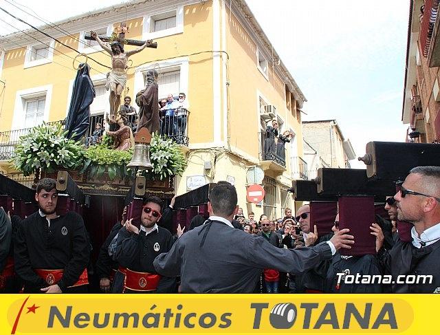 Encuentro Nuestro Padre Jesús, Lavatorio de Pilatos y Jesús en el Calvario - Semana Santa 2017 - 19