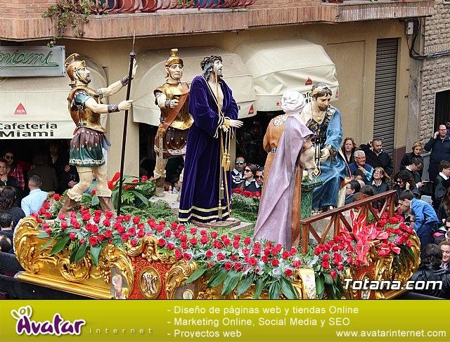 Encuentro Nuestro Padre Jesús, Lavatorio de Pilatos y Jesús en el Calvario - Semana Santa 2018 - 2