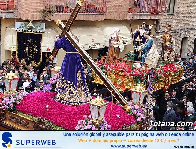 Encuentro Nuestro Padre Jesús, Lavatorio de Pilatos y Jesús en el Calvario - Semana Santa 2018 - 50