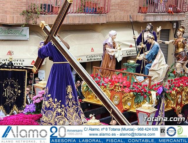 Encuentro Nuestro Padre Jesús, Lavatorio de Pilatos y Jesús en el Calvario - Semana Santa 2018 - 55
