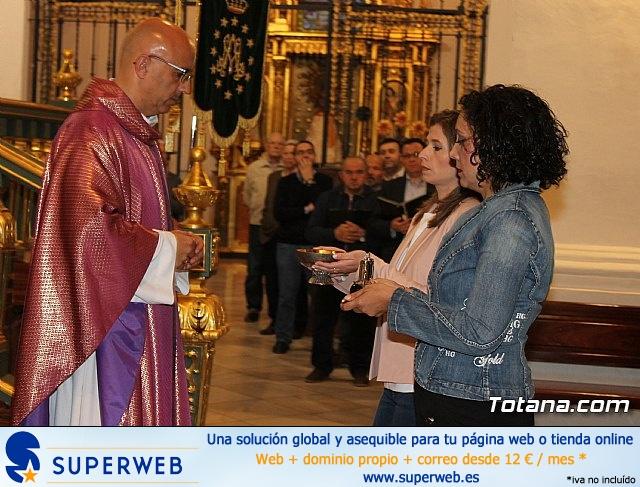 Imposición de escapularios Cristo de la Agonía y Virgen de la Esperanza 2017 - 11