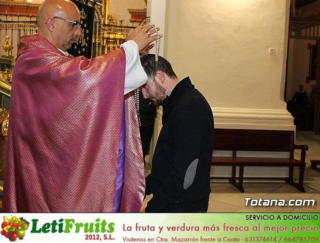 Imposición de escapularios Cristo de la Agonía y Virgen de la Esperanza 2017 - 20