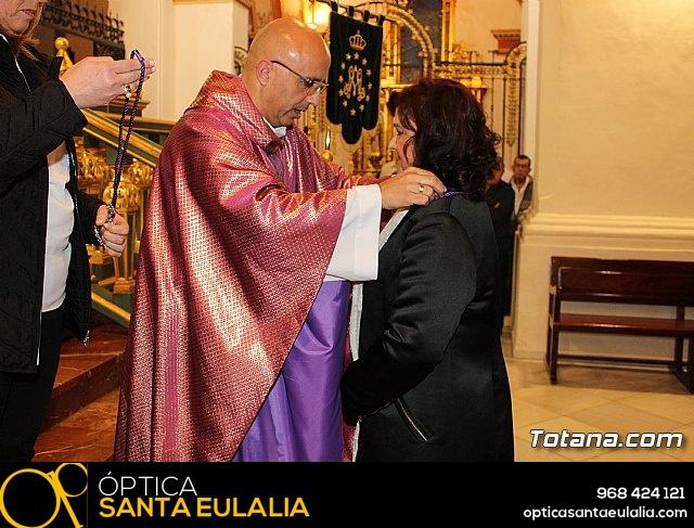 Imposición de escapularios Cristo de la Agonía y Virgen de la Esperanza 2017 - 32
