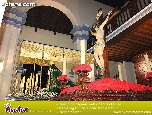 Imposición de escapularios Cristo de la Agonía y Virgen de la Esperanza 2015 - 1