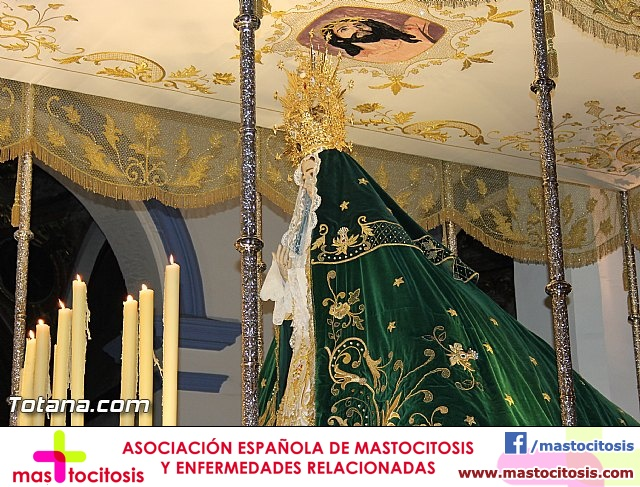 Imposición de escapularios Cristo de la Agonía y Virgen de la Esperanza 2015 - 2
