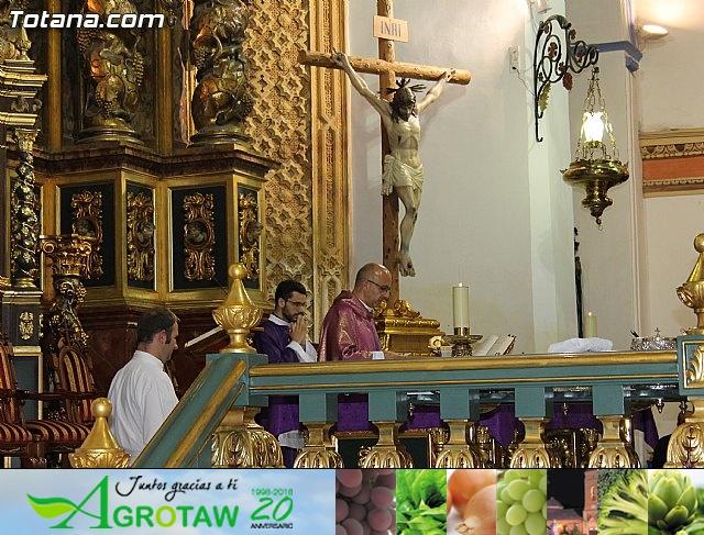 Imposición de escapularios Cristo de la Agonía y Virgen de la Esperanza 2015 - 16