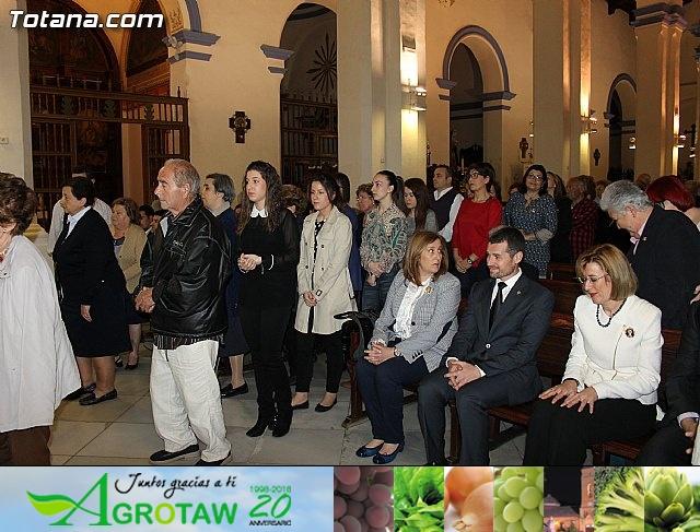 Imposición de escapularios Cristo de la Agonía y Virgen de la Esperanza 2015 - 23