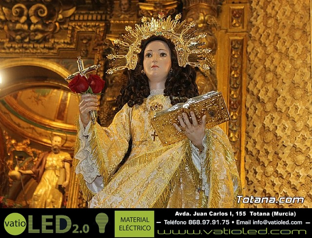 Solemne eucaristía con motivo de la festividad de la Patrona de Totana, Santa Eulalia de Mérida 2020 - 1