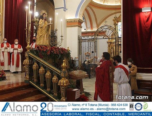 Solemne eucaristía con motivo de la festividad de la Patrona de Totana, Santa Eulalia de Mérida 2020 - 2